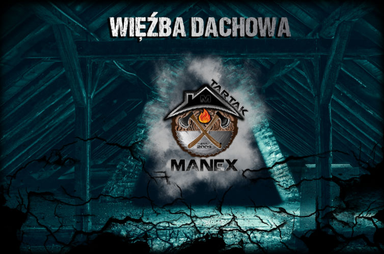 tartak manex więźba - grafika reklamowa plugin gorzów wielkopolski